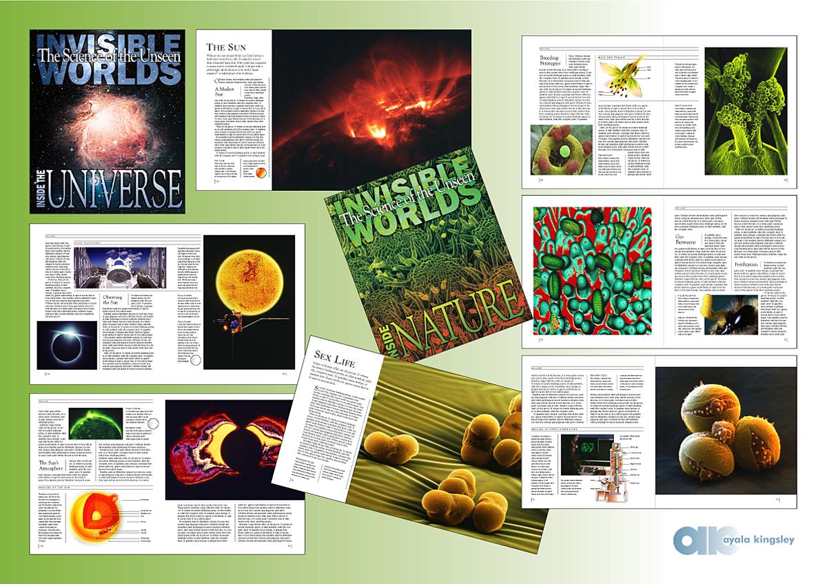 Portfolio—book layout |